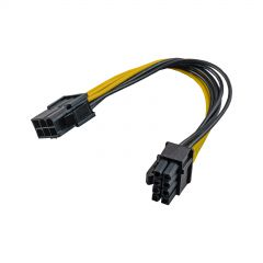 Adaptateur PCI Express 6 broches M / 6+2-pin F AK-CA-07